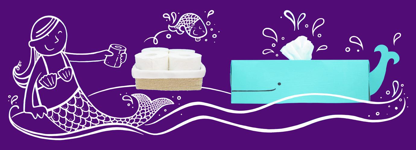 Surprisingly Original Toilet Paper Storage Idea