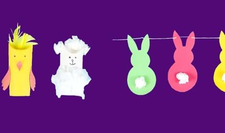 2 Easy Easter Crafts for Kids