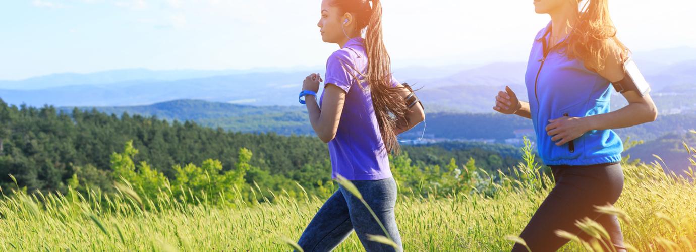 runny nose when running