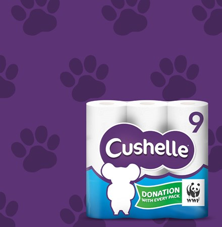 Cushelle WWF Campaign